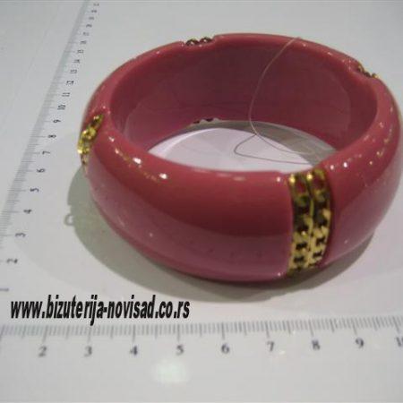 ciklama plasticna narukvica (2)