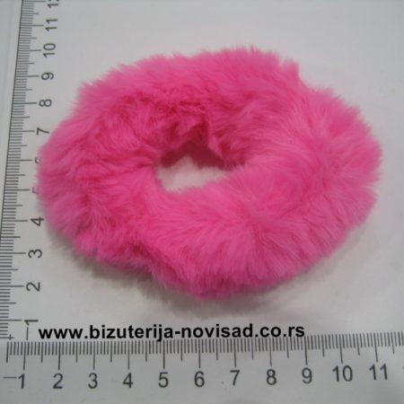 krznene gumice za kosu (6)